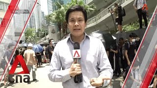 Hong Kong protests: Protesters move from LegCo to police HQ