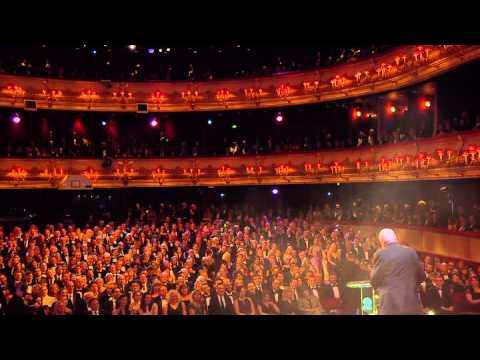 Mike Leigh Wins Academy Fellowship Acceptance Speech Winner Bafta Awards 2015 HD