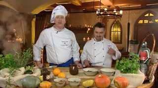 Rączka gotuje - gęsie pipki i korzenna pierś z gęsi z sosem grzybowym
