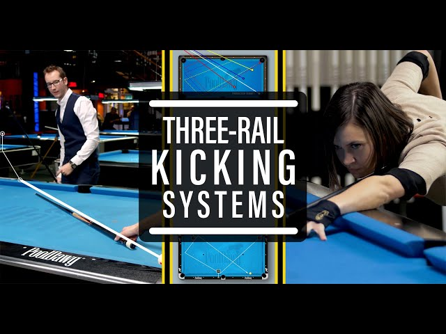 Advanced Billiard Tutorial #8:  3 Rails Systems to NEVER Miss anymore!! -- Venom Trickshots
