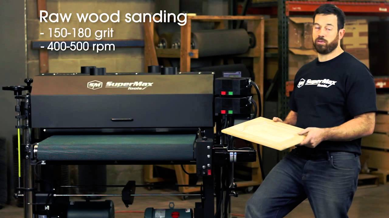 Tips and Tricks Sanding Cabinet Doors with the SuperBrush Sander ...