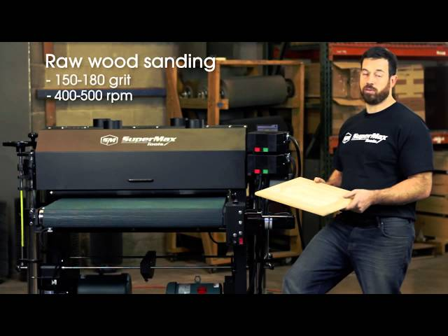 Tips and Tricks   Sanding Cabinet Doors with the SuperBrush Sander