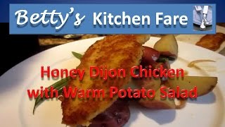 Honey Dijon Chicken And Warm Potato Salad