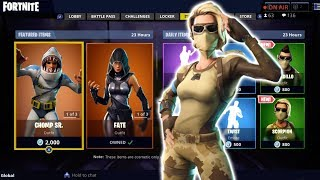 *NEW* Scorpion & Armadillo skins! Fortnite Item Shop!