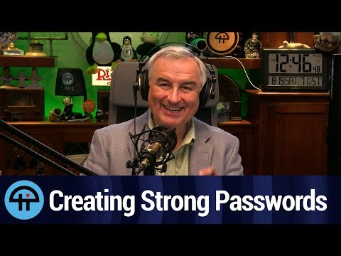 Creating Strong Passwords