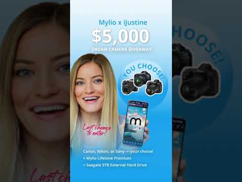 Last Chance! Mylio x iJustine $5K Dream Camera Giveaway #Shorts