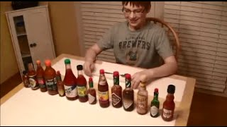 11-yr-old eats 14 hot sauces, Ghost pepper & Moruga Scorpion puree : Hot Sauce Review