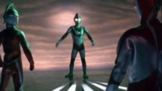 O Regresso de Ultraman - tema de combate (KAETTE KITA URUTORAMAN)