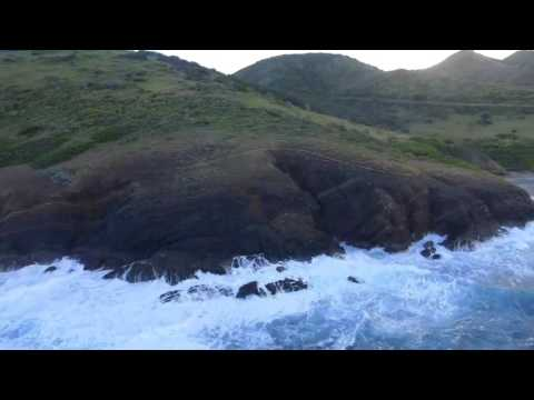 St. Croix USVI : Panoramic views of the East End Marine Park  Pt.2