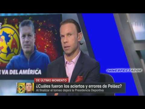 Se confirma la salida de Ricardo Pelaez del Club America - Los Capitanes