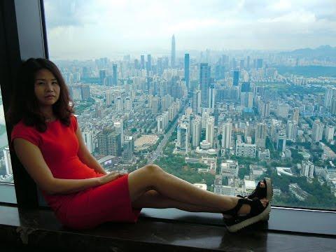 KK100 Kingkey 100 Finance Tower Shenzhen China