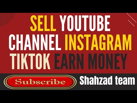 sell youtube channel Instagram account TikTok account and earn money online fameswap.com earn money