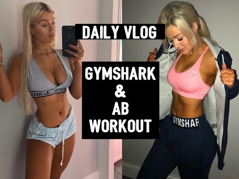 DAILY VLOG- Ab Workout & Gymshark Delivery