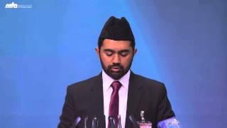 Interkultureller Frieden - Der Heiligen Propheten Muhammad saw - Jalsa Salana Deutschland 2013