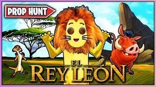 EL REY LEON 🦁 en FORTNITE (MINIJUEGO CREATIVO)