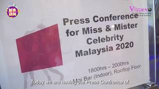 【城市动向】 Miss & Mister Celebrity Malaysia 2020 Press Conference 07 FEB 2020