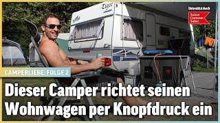 Dieser alte Familien-Wohnwagen hat es in sich | Camperliebe ❘ Folge 2