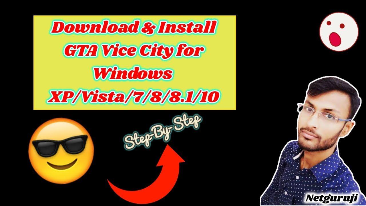 gta vice city windows xp download