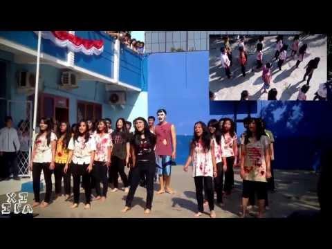 Yel - Yel Kelas XI.IPA SMAK Kanaan Tangerang 2013