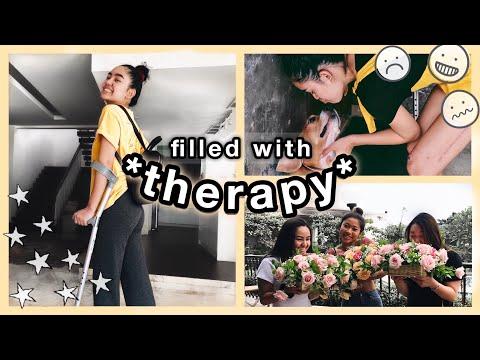 a week in my CRUTCH life ☆ injured vlog