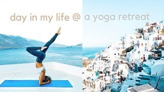 a day in my life @ a Yoga Retreat 🧘‍♀️🇬🇷