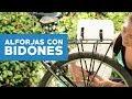 Cómo hacer alforjas para la bicicleta con bidones