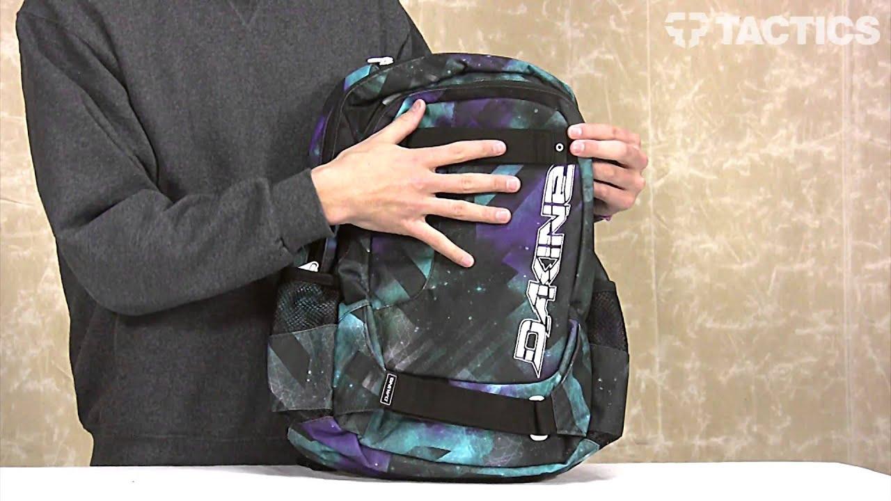 Dakine 2013 Option Backpack Review - Tactics.com - YouTube