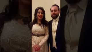 بسمة ماغ في حفل زفاف الفنانة فاتن هلال بك 2017 Video