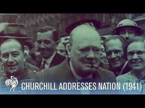 Winston Churchill Speech on The Blitz