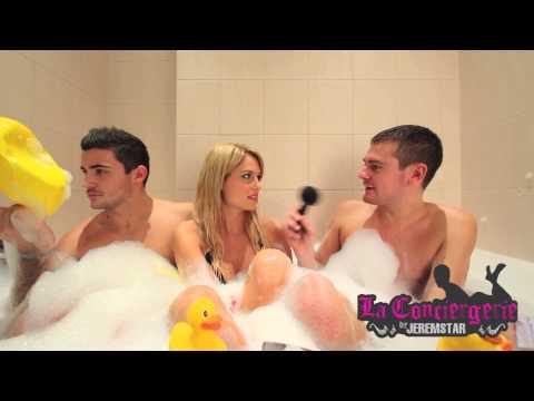 Marine et Anthony (La belle et ses princes) dans le bain de Jeremstar - INTERVIEW