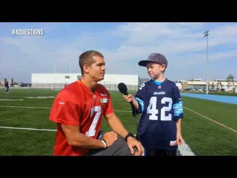 4 Questions with the Jr. Admiral and Trevor Harris