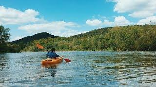 San - spływ kajakowy   Sanok - Krzemienna   4K