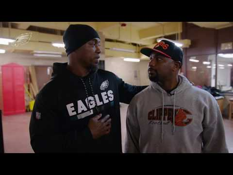 Brian Dawkins Surprises Football Coach With Super Bowl Tickets