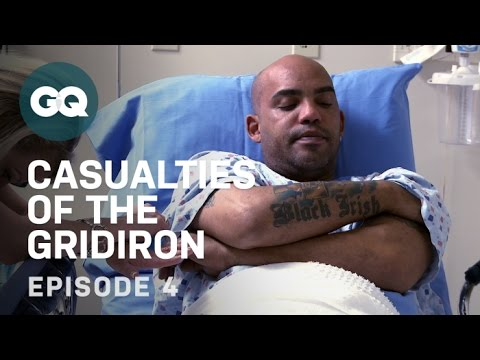 Ray Lucas Tries Alternative Pain Treatment–Football Injuries–GQ Casualties of the Gridiron–EP4 from YouTube · Duration:  6 minutes 11 seconds