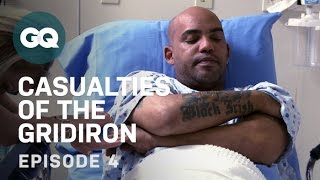Ray Lucas Tries Alternative Pain Treatment-Football Injuries-GQ Casualties of the Gridiron-EP4