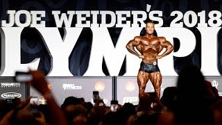Chris Bumstead Posing Routine at Mr. Olympia 2018 Contest | Classic Physique