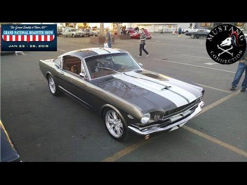 500 HP! 1966 Ford Mustang Fastback Restomod Pantera @ Grand National Roadster Show 2015 Mustang