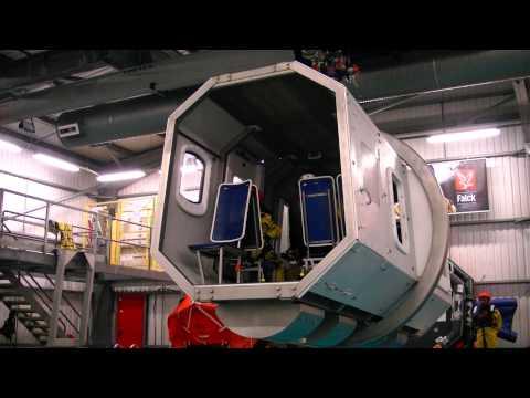 Offshore survival training in Aberdeen