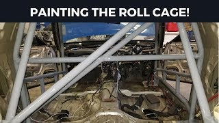 How to Paint a Roll Cage with a Paint Brush | Marco Mondays