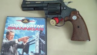 Colt diamondback John Wayne (Brannigan movie 1975)