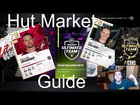 NHL 21 Hut Market Guide - Team Building Sets