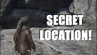 Getting Inside the Secret Bigfoot Cave in Red Dead Redemption 2!