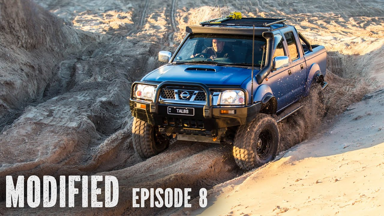 Modified Nissan Navara D22, modified episode 8