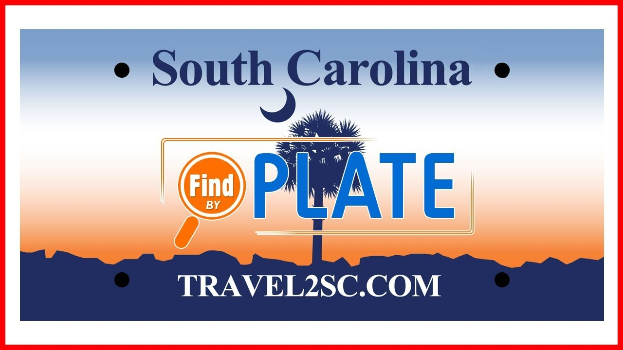 Look Up License Plates in South Carolina