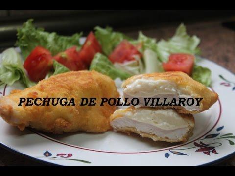 Pechugas De Pollo Villaroy Receta Facilisima Video Nº37 Youtube