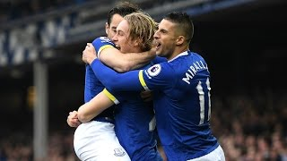 Video Gol Pertandingan Everton vs AFC Bournemouth
