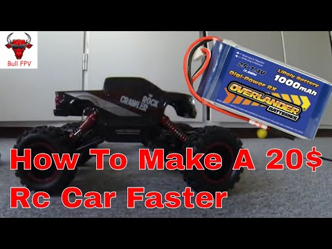 Best Way To Make A Cheap Rc Car Go Faster - YouTube