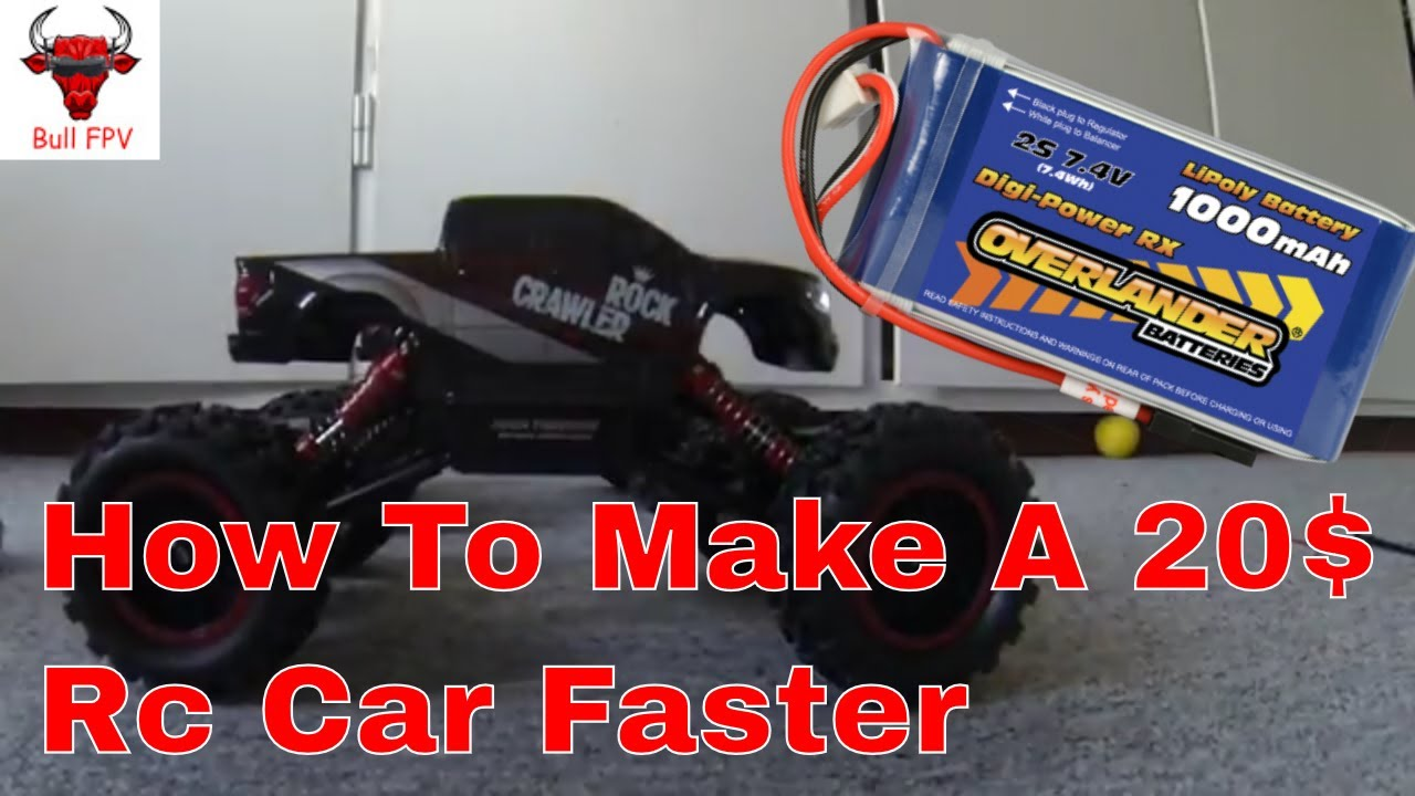 best way to make a cheap rc car go faster youtube. Black Bedroom Furniture Sets. Home Design Ideas