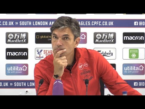 Crystal Palace 0-1 Southampton - Mauricio Pellegrino Full Post Match Press Conference