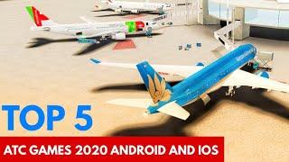 TOP 5 FREE Air Traffic Control/Airport Handling games 2020